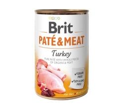 BRIT PUSZKA PIES PATE & MEAT TURKEY 800G