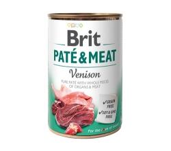 BRIT PUSZKA PIES PATE & MEAT VENISON 800G