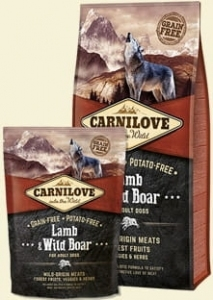 CARNILOVE LAMB & WILD FOR ADULT 1,5KG