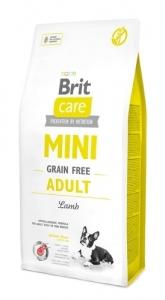 BRIT MINI GRAIN FREE ADULT LAMB 0,4KG