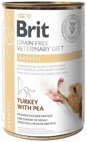 BRIT GRAIN FREE VETERINARY DIETS DOG  HEPATIC 400G