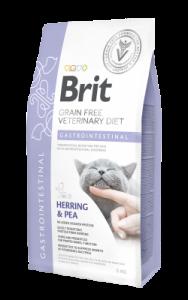 BRIT GRAIN FREE VETERINARY DIET CAT GASTROINTESTINAL 0,4KG