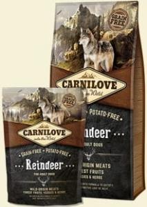 CARNILOVE REINDEER ADULT 1,5KG