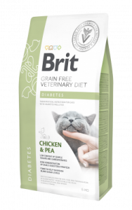 BRIT GRAIN FREE VETERINARY DIET CAT DIABETES 0,4KG