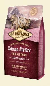 CARNILOVE KOT KITTEN SALMON&TURKEY 0,4KG