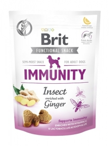 BRIT PRZYSMAK PIES FUNCTIONAL SNACK IMMUNITY INSECT 150G