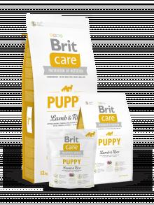 BRIT CARE PUPPY LAMB RICE 12KG