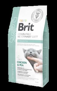 BRIT GRAIN FREE VETERINARY DIET CAT STRUVITE 2KG