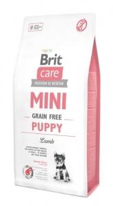 BRIT CARE MINI GRAIN-FREE PUPPY LAMB 7KG