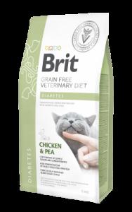 BRIT GRAIN FREE VETERINARY DIET CAT DIABETES 2KG