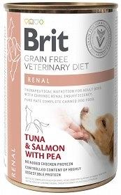 BRIT GRAIN FREE VETERINARY DIET DOG RENAL 400G