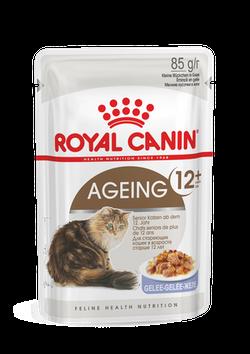 ROYAL CANIN AGEING +12 W GALARECIE 85G SASZETKA