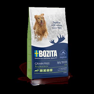BOZITA GRAIN FREE 3,5KG Z ŁOSIEM