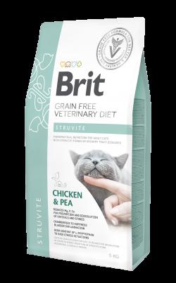 BRIT GRAIN FREE VETERINARY DIET CAT STRUVITE 0,4KG