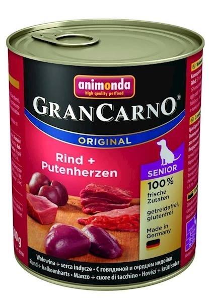 ANIMONDA GRANCARNO 800G SENIOR KURCZAK/SERCA INDYCZE